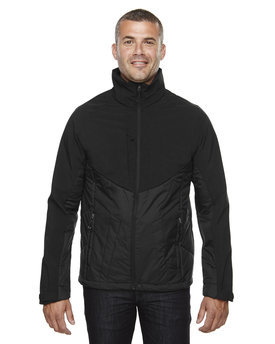 88679 NORTH Men's Innovate Insulated Hybrid Soft Shell Jacket