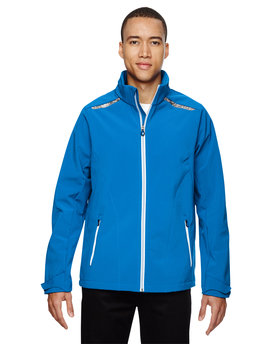 88693 NORTH Men's Excursion Soft Shell Jacket with Laser Stitch Accents
