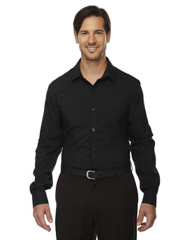 88804 North End Men's Rejuvenate Performance Shirt with Roll-Up Sleeves