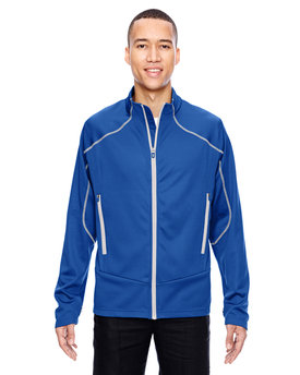 88806 NORTH Men's Cadence Interactive Two-Tone Brush Back Jacket
