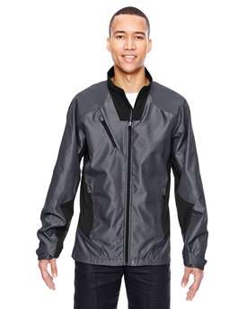 88807 NORTH Men's Aero Interactive Two-Tone Lightweight Jacket
