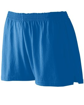 987 Augusta Drop Ship Ladies' Trim Fit Jersery Short