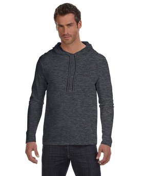 987AN Anvil Lightweight Long-Sleeve Hooded T-Shirt