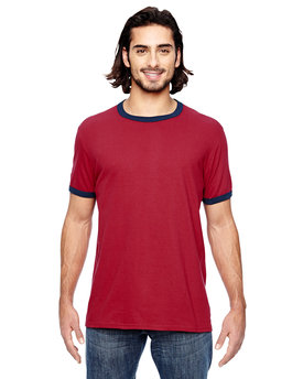 988AN Anvil Lightweight Ringer T-Shirt