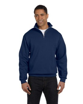 995M Jerzees Adult 8 oz. NuBlend® Quarter-Zip Cadet Collar Sweatshirt