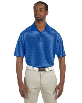 A160 adidas Golf Men's climalite® Pencil Stripe Polo