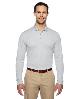 A186 adidas Golf Men's climalite® Long-Sleeve Polo