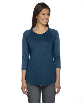 AP203W Authentic Pigment Ladies' True Spirit Raglan T-Shirt