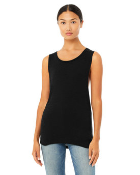 B8803 Bella + Canvas Ladies' Flowy Scoop Muscle Tank
