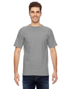 BA7100 Bayside Adult Adult Short-Sleeve Tee with Pocket