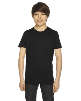 BB201 American Apparel Youth Poly-Cotton Short-Sleeve Crewneck