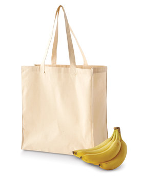 BE055 BAGedge 6 oz. Canvas Grocery Tote