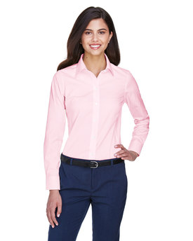 D630W Devon & Jones Ladies' Crown Woven Collection™ Solid Oxford