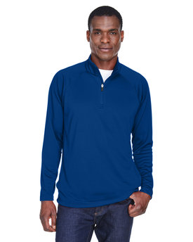 DG440 Devon & Jones Men's Stretch Tech-Shell® Compass Quarter-Zip