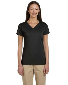 EC3052 econscious Ladies' 4.4 oz., 100% Organic Cotton Short-Sleeve V-Neck T-Shirt