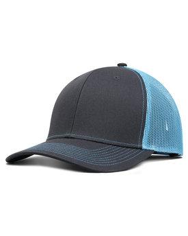 F210 Fahrenheit Pro Style Trucker Hat. F210. GREY  NEON ... c197f026ac80