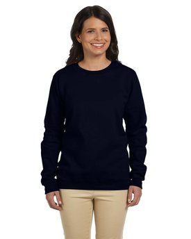 G180FL Gildan Ladies' Heavy Blend™  8 oz., 50/50 Fleece Crew