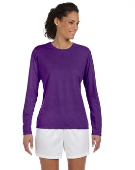 G424L Gildan Ladies' Performance® Ladies' 5 oz. Long-Sleeve T-Shirt