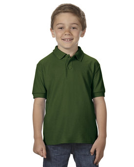 G728B Gildan Youth DryBlend® 6.3 oz. Double Piqué Polo