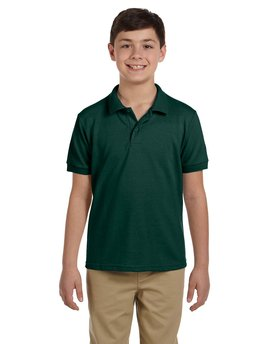 G948B Gildan Youth DryBlend® 6.5 oz. Piqué Polo