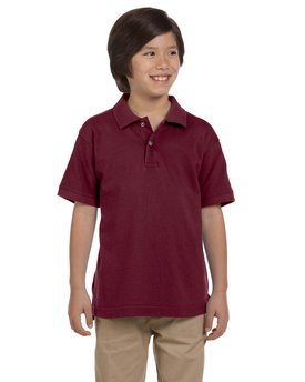 M200Y Harriton Youth 6 oz. Ringspun Cotton Piqué Short-Sleeve Polo