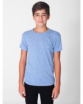 TR201W American Apparel Youth Triblend Short-Sleeve T-Shirt