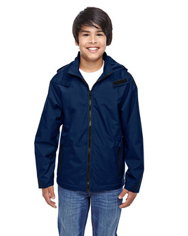 TT72Y Team Youth Conquest Jacket with Fleece Lining
