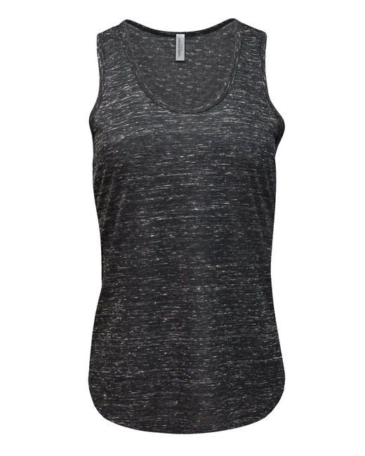 204LT Threadfast Apparel Ladies' Blizzard Jersey Racer Tank
