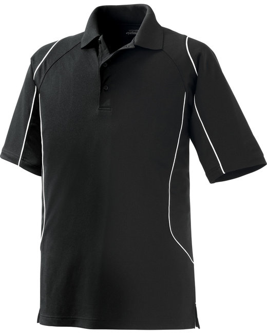 Ashe Xtream Mens Eperformance Velocity Snag Protection Colorblock Polo with Piping