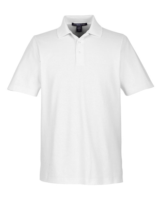 DG20 Devon & Jones CrownLux Performance™ Men's Plaited Polo
