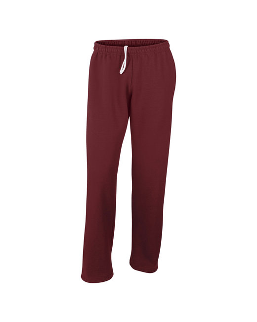 G123 Gildan Adult DryBlend® Adult 9 oz., 50/50 Open-Bottom Sweatpants
