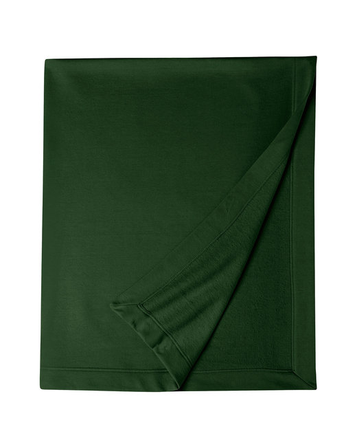 G129 Gildan DryBlend® 9 oz. Fleece Stadium Blanket