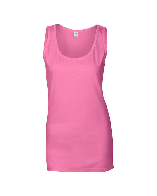 G642L Gildan Ladies' Softstyle®  4.5 oz. Fitted Tank