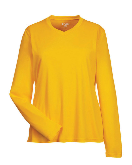 TT11WL Team 365 Ladies' Zone Performance Long-Sleeve T-Shirt