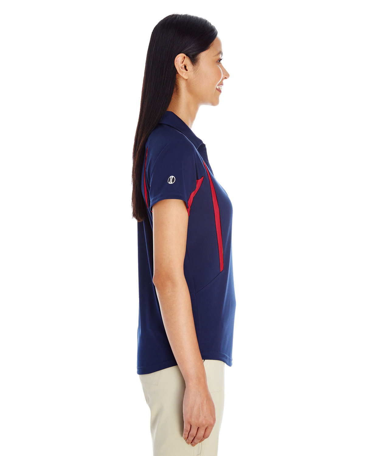 227444ee Front Back Side · Gallery View Download HiRes Design Studio. 222730 Holloway  Ladies' Avenger Short-Sleeve Polo