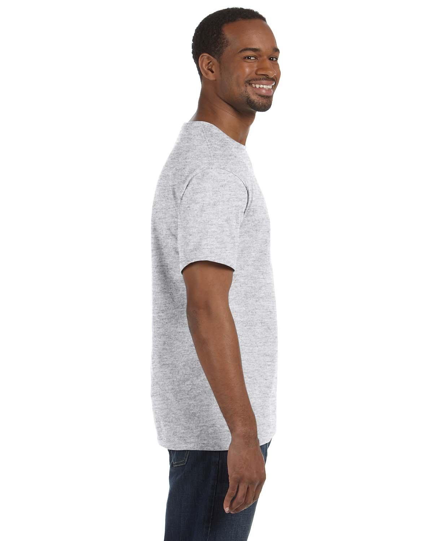 Pack of 9 Jerzees Tall 5.6 oz 50//50 Heavyweight Blend T-Shirt XLT Black 29MT