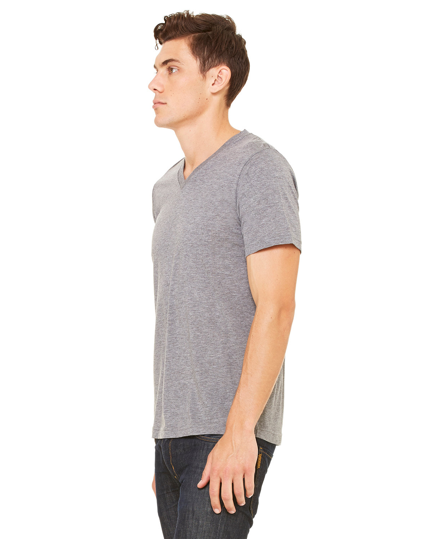 a61ed9593 Front Back Side. Gallery View Download HiRes Design Studio. 3415C Bella +  Canvas Unisex Triblend Short-Sleeve V-Neck T-Shirt