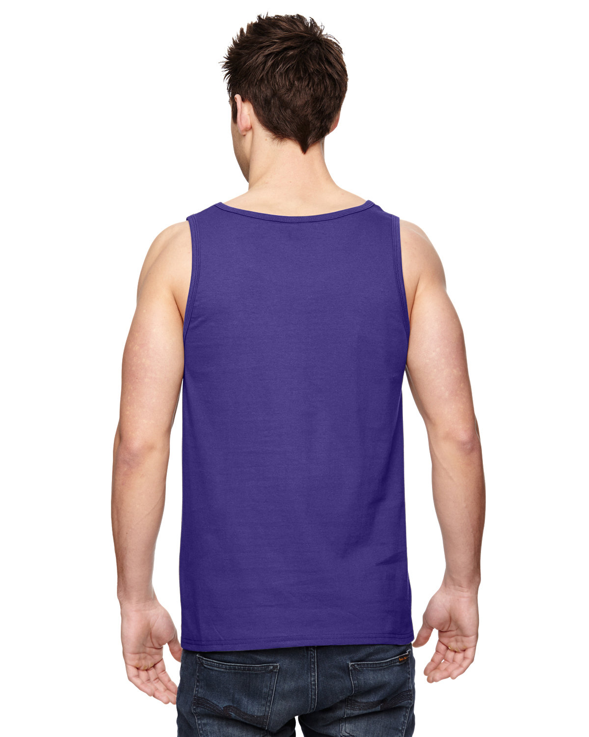 4a8580156b432 Front Back Side · Gallery View Download HiRes Design Studio. 39TKR Fruit of  the Loom Adult 5 oz. HD Cotton™ Tank