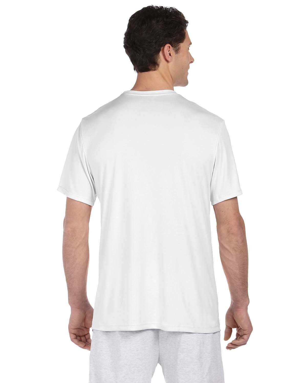 thumbnail 46 - Hanes-4820-Adult-Cool-DRI-with-FreshIQ-T-Shirt