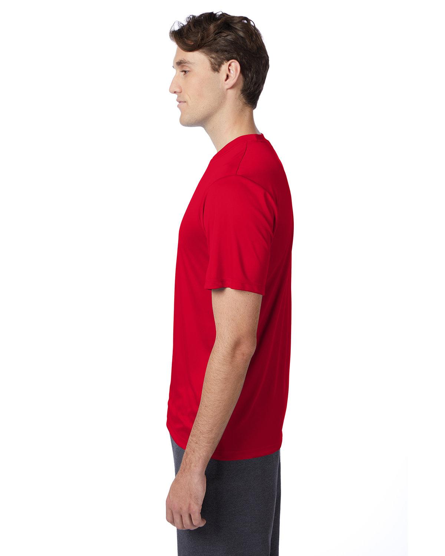thumbnail 21 - Hanes-4820-Adult-Cool-DRI-with-FreshIQ-T-Shirt