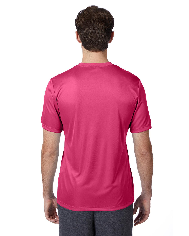 thumbnail 49 - Hanes-4820-Adult-Cool-DRI-with-FreshIQ-T-Shirt