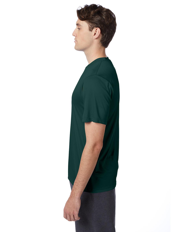 thumbnail 18 - Hanes-4820-Adult-Cool-DRI-with-FreshIQ-T-Shirt