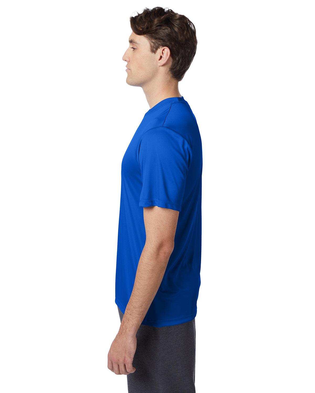 thumbnail 24 - Hanes-4820-Adult-Cool-DRI-with-FreshIQ-T-Shirt