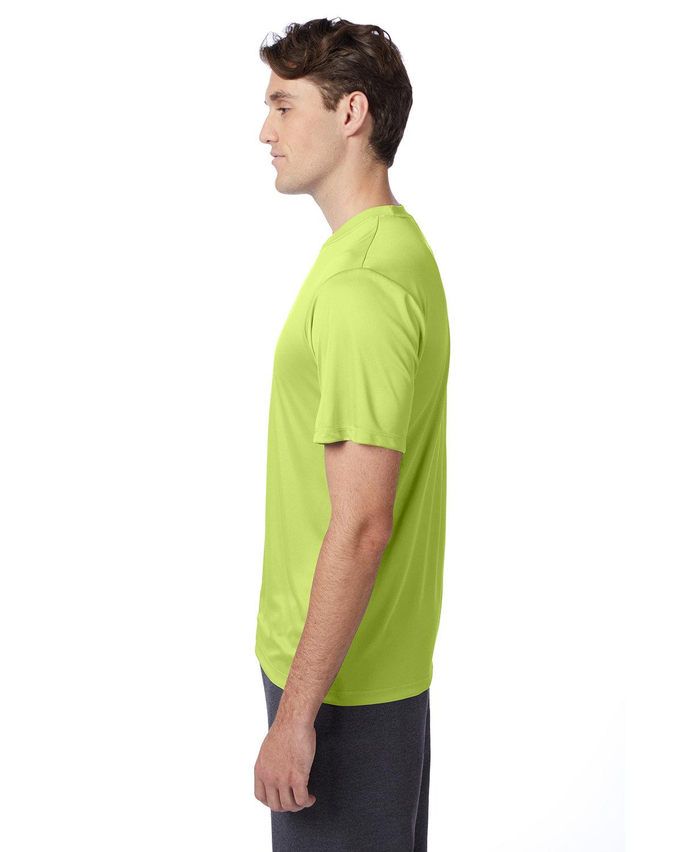 thumbnail 41 - Hanes-4820-Adult-Cool-DRI-with-FreshIQ-T-Shirt