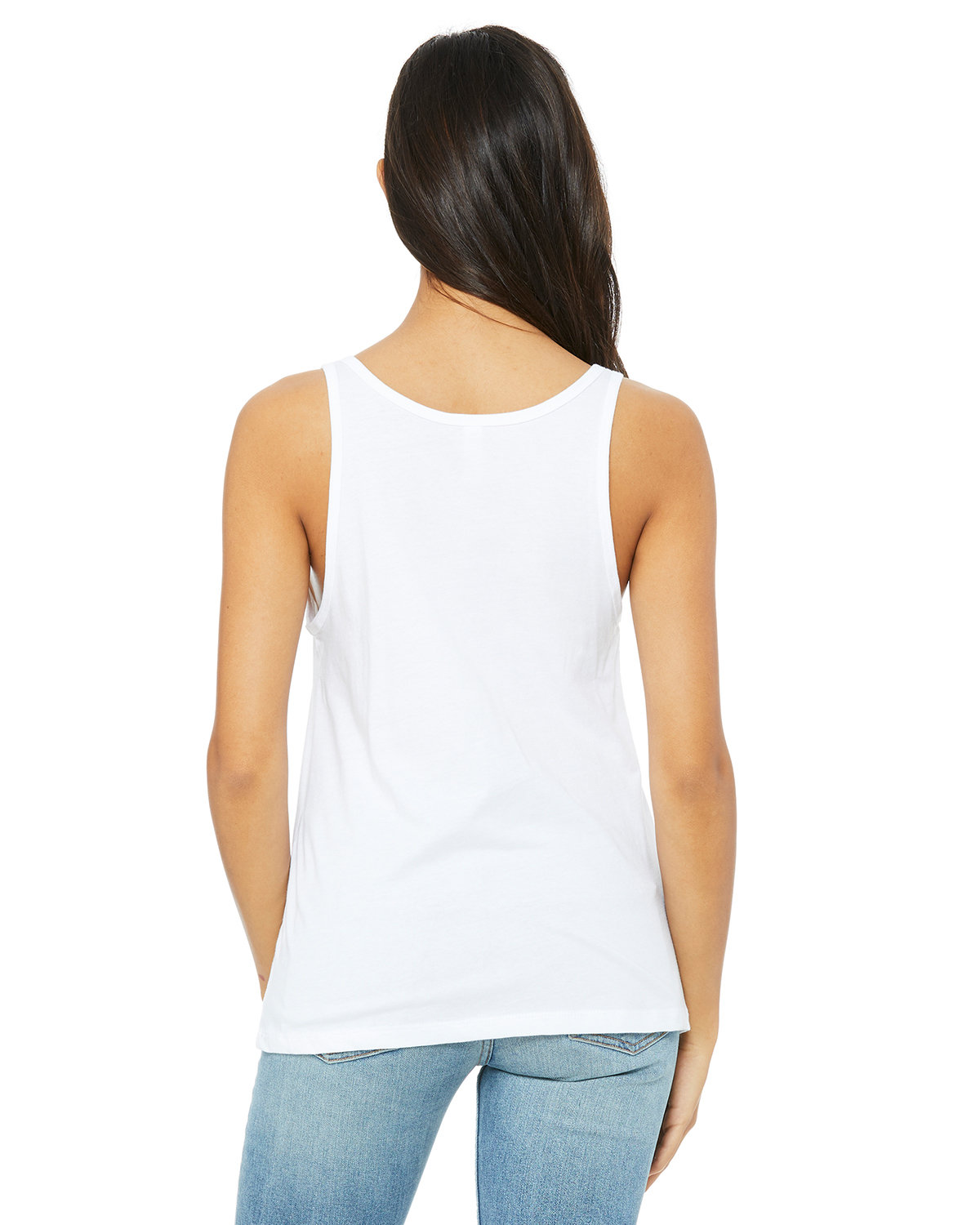 94f5116e76935f Front Back Side. Gallery View Download HiRes Design Studio. 6488 Bella +  Canvas Ladies  Relaxed Jersey Tank
