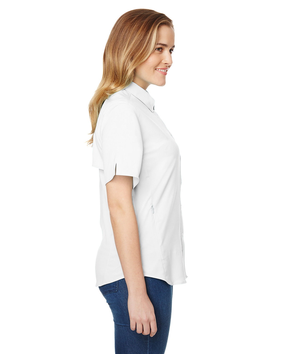 f06d3763061 Front Back Side · Gallery View Download HiRes Design Studio. 7277 Columbia  Ladies' Tamiami™ II Short-Sleeve Shirt