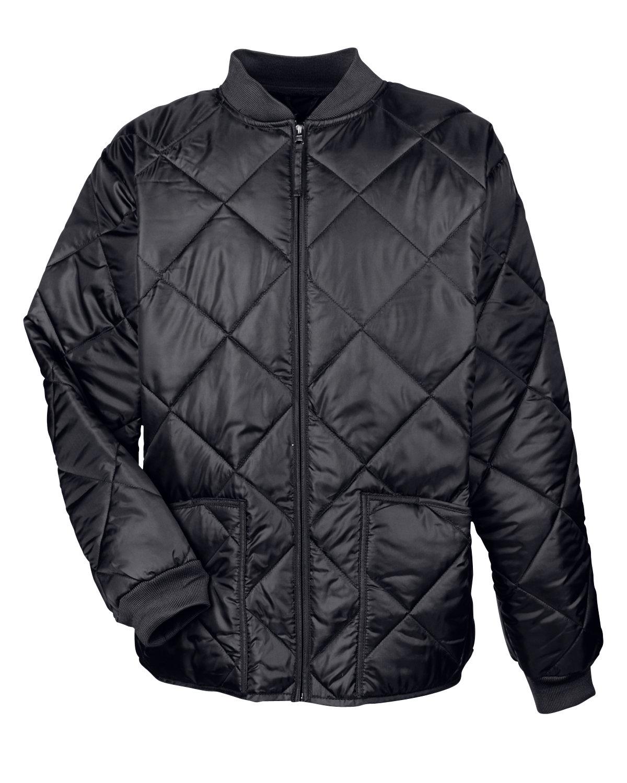 Ultraclub 8467 Adult Puffy Workwear Jacket