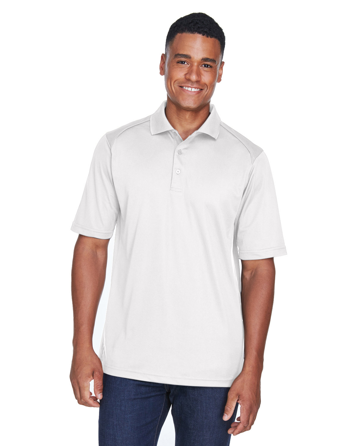 Ashe Xtream Mens Size Tall Eperformance Snag Protection Long-Sleeve Polo