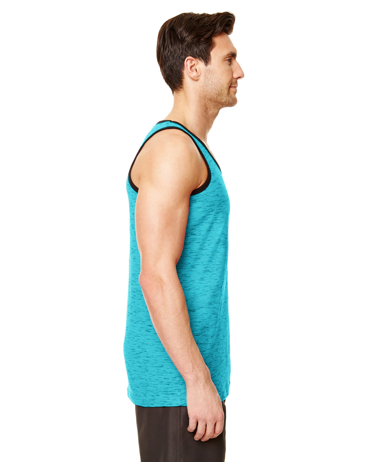 0332615f9c2179 B9102 Burnside Adult Injected Slub Tank Top. Touch to zoom. Color Shown   blue