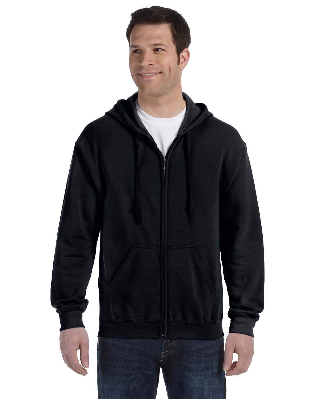 Hooded Sweatshirt Men/'s Adult Blank Hoodie Heavy Blend 8 oz Dark Chocolate